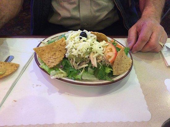 Fortuna, CA: Taco salad