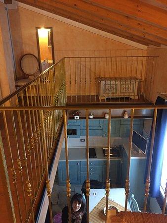 Luci sul Risorgimento: bella stanza a due piani