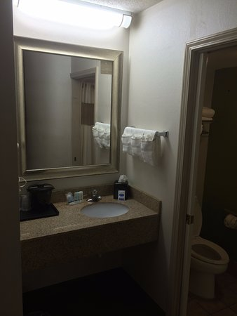 Gaffney, SC: View of vanity and bathroom area