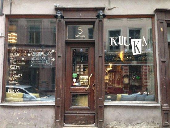 Región de Riga, Letonia: Kuuka Kafe outside