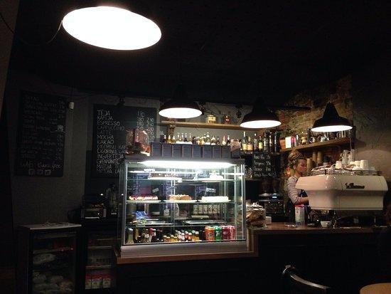 Región de Riga, Letonia: Kuuka Kafe inside