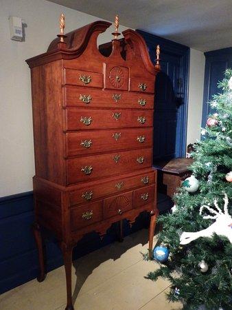 Concord Museum, mueble antiguo típico en perfecto estado de conservación