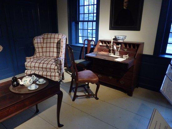 Concord Museum, recreación estancia de época