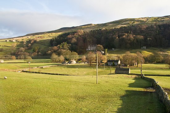 Yorkshire Dales National Park, UK: View across Arkengarthdale from Room 11