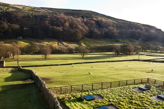 Yorkshire Dales National Park, UK: View down Arkengarthdale from Room 11