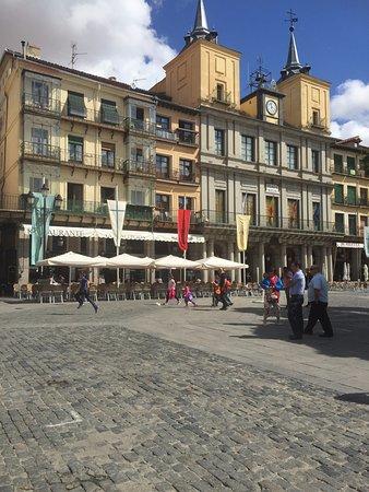 La Concepcion: Vista Terraza y Plaza mayor