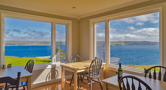 The Bayside Bed and Breakfast: Amazing views from our dining room. No waiting! (Photo credit: Lee Peterson)