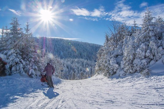 Sutton, Canadá: Des paysages enneigés de toute beauté
