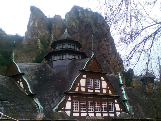 Bad Munster am Stein-Ebernburg, Germany: Rheingrafenstein, Bad Münster am Stein-Ebernburg