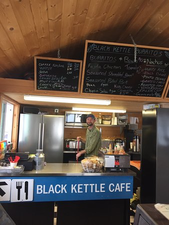 Black Kettle Burritos: Great stop for a great burrito