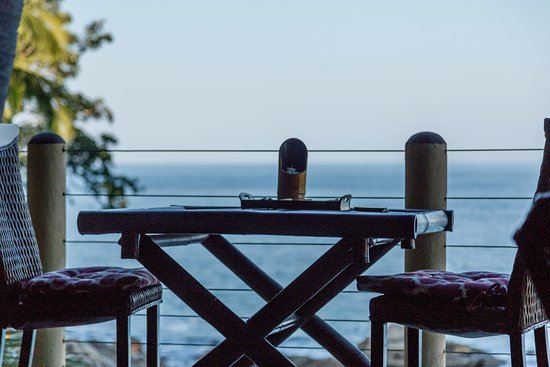 Casa Pericos: View from your breakfast sitting area?