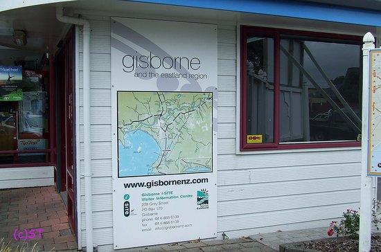 Gisborne, New Zealand: Info Map and address details