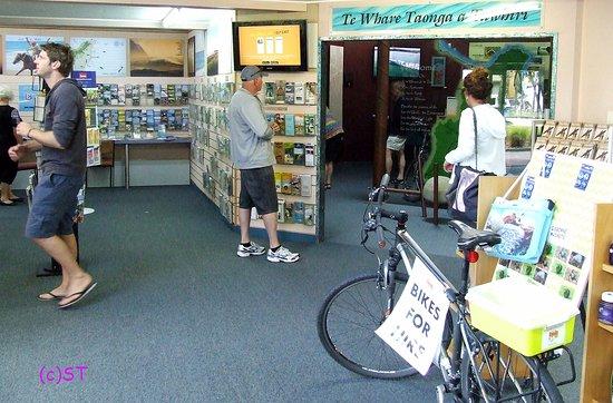Gisborne, New Zealand: Display Room