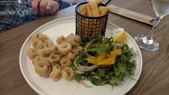 Heidelberg, Australia: Calamari