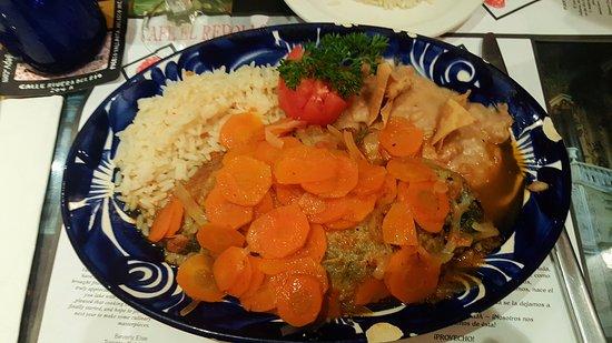 Red Cabbage Cafe: Chiles de Picadillo