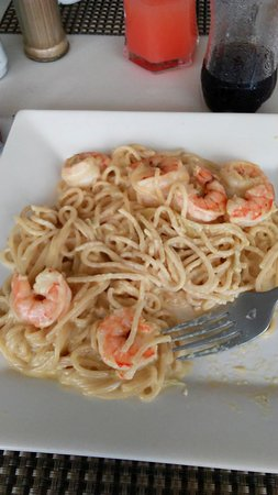 "The Anchor Cafe: ""Spaghetti with Shrimp and Sauce"""