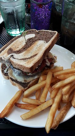 Rosie's Bar & Grill: Ein super leckeres Sandwich 😋
