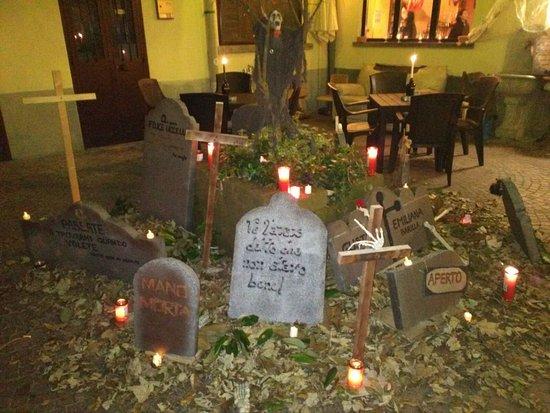 Comerio, Italia: Halloween