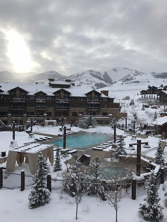 Waldorf Astoria Park City: View from our room