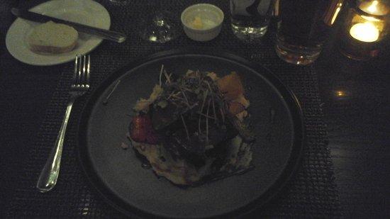 Cafe Le Hobbit : Boudin noir...Excellent!