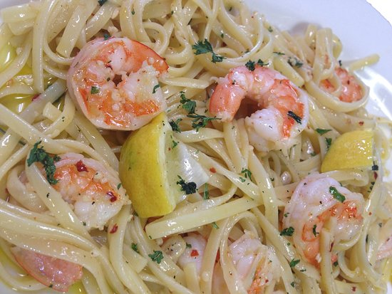 Willow Street, Pensilvanya: Shrimp Scampi made from scratch