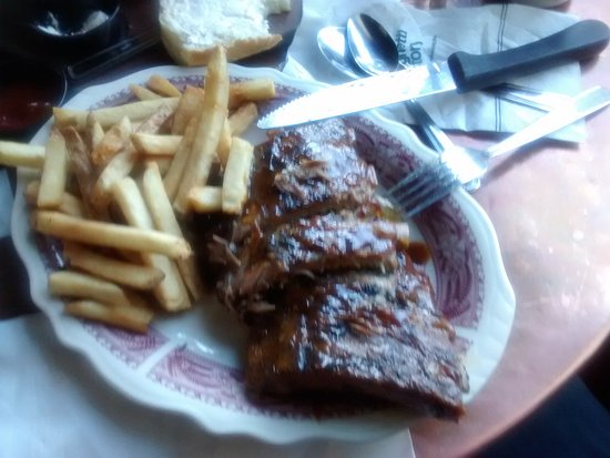 The Old Spaghetti Factory : BBQ'd Ribs
