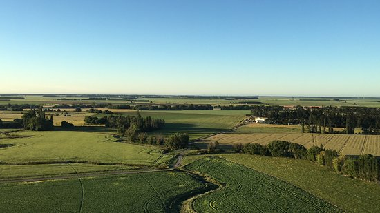 Darfield, New Zealand: Views from the balloon