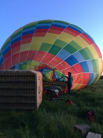 Darfield, New Zealand: Inflating