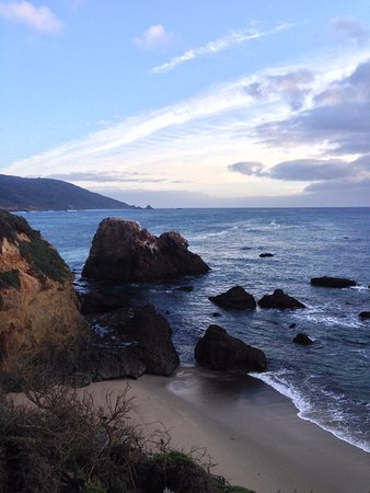 Andrew Molera State Park: View of Big Sur from top of Headlands Trail