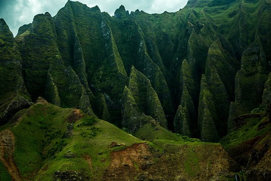 Kilauea, Гавайи: Lush mountains