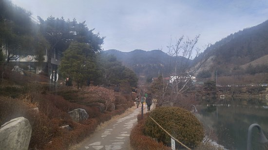 Geumsan-gun, Corea del Sur: trail