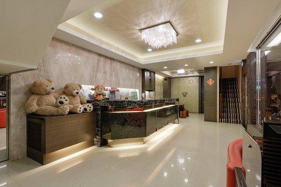 Happy Hotel Kaohsiung: 接待大廳