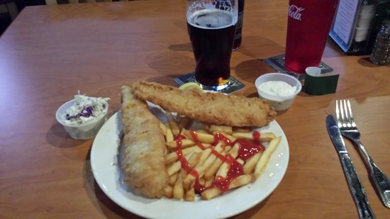 Finley's Irish Pub & Eatery: BOGO fish and chips on Mondays