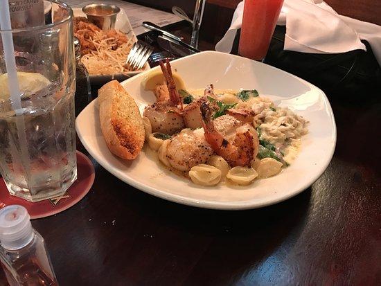 Pappadeaux Seafood Kitchen Shrimp Scallop Orecchiette Pasta