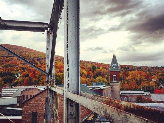 North Adams, MA: Perched on top of Mass MOCA