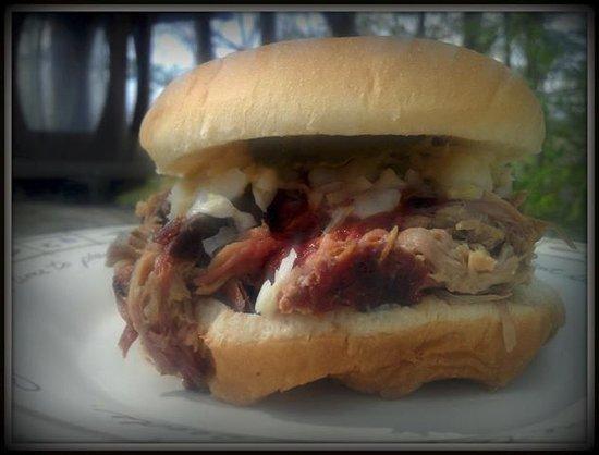 Lenoir, NC: BBQ Sandwich