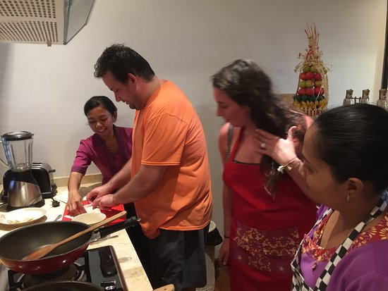 Tegal Mengkeb, Indonésie : In-Villa Cooking Class - Fantastic!
