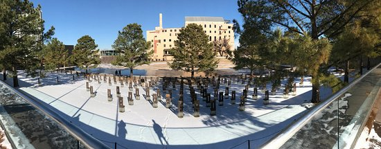 oklahoma bombing memorial address