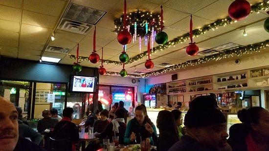 Woodside, NY: the dining room