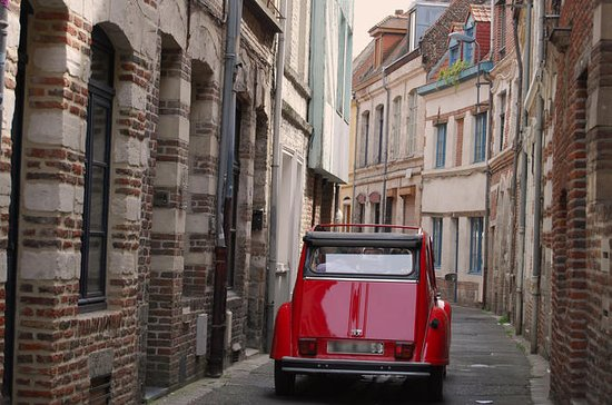 Lille Tour by Vintage Car with...