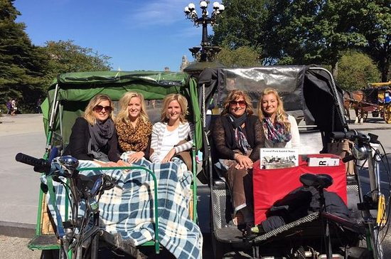 Pedicab guidad tur till Central Park