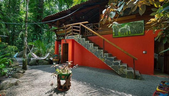 Manzanillo, Costa Rica: River Dream House - Stairs to Upstairs :-)