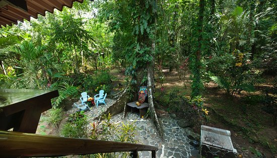 Manzanillo, Costa Rica: River Dream House - Patio View from Upstairs