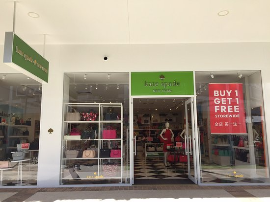 Harbour Town Outlet Shopping Centre: Newly opened Kate Spade