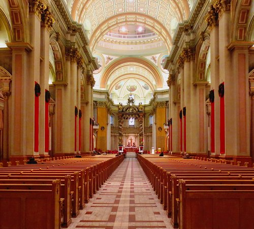 Montreal, Canada: Beautiful cathedral