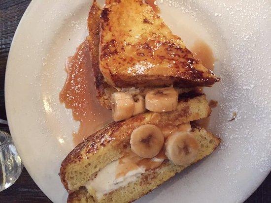 Media, PA: Caramel Banana French Toast