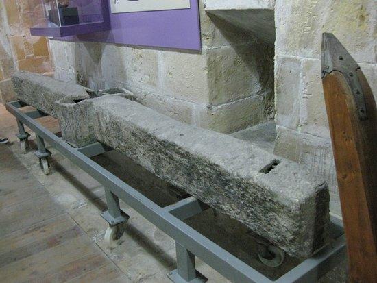 Birgu (Vittoriosa), Malta: Malta Maritime Museum - Alte Anker