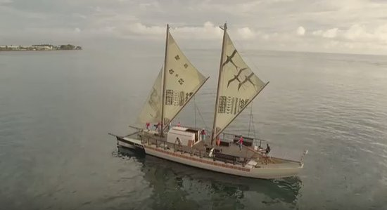 The hidden star of 'Moana': the Pacific voyaging canoe