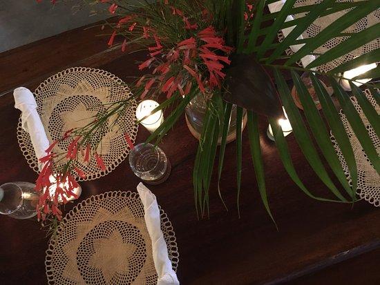 Tola, Nicaragua: Dinning room