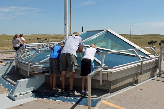 Philip, SD: looking into the missile silo